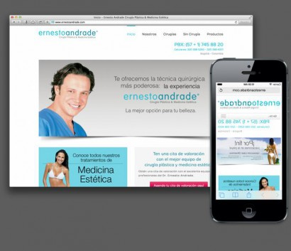 Ernesto Andrade – Cirugía Plastica