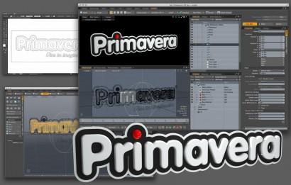 3D Logo Primavera